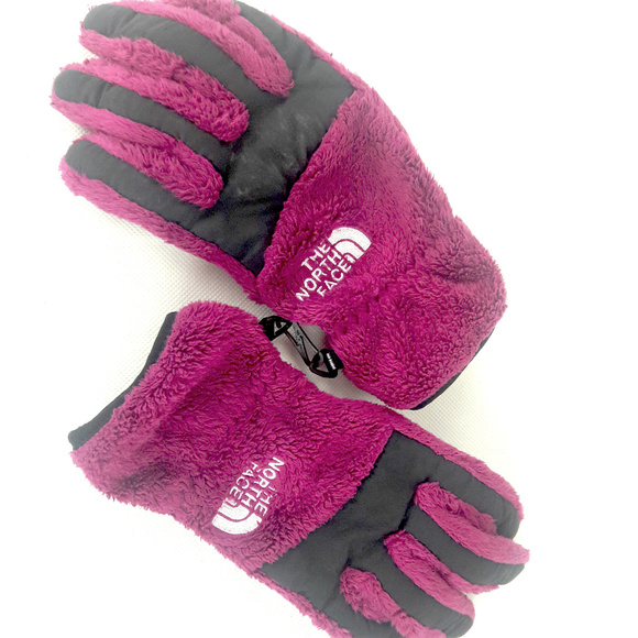 a261d2ee7 The North Face Furry Fushia XS Winter Gloves